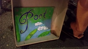 Poetry to go by Erin On Frenchman Street